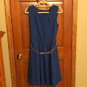 Belted Ellen Tracy Dress